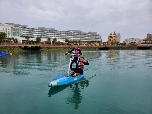 『沖縄本島』でお得にマリンスポーツなら『足漕ぎサップ』がおすすめ!