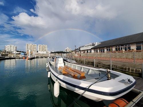 沖縄本島 船釣り体験 初心者 女性