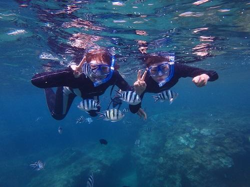 沖縄は1年中海で遊べます!気になる水温は?