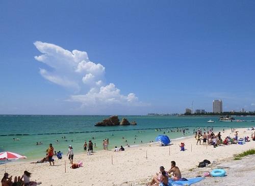 サンセットビーチから車で約5分!沖縄でマリンスポーツはシーパーク北谷♪