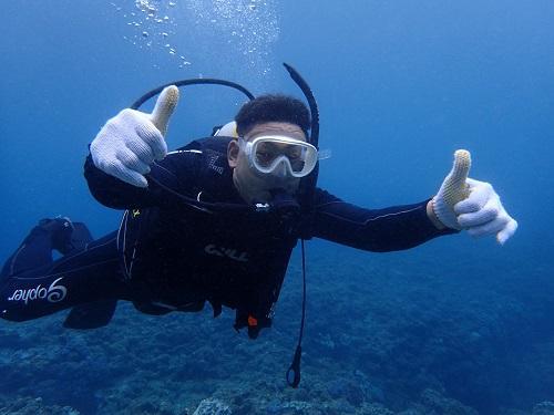 沖縄本島 体験ダイビング 北谷 当日 おすすめ 人気 初めて