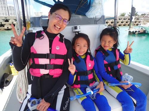 梅雨明け間近の沖縄!シーパーク北谷でマリンスポーツを家族で楽しみませんか?