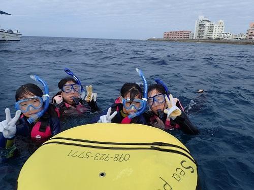 『沖縄本島』北谷で遊ぶなら海遊び『シュノーケル』がおすすめ!