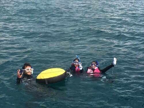 沖縄 北谷 ボートシュノーケリング