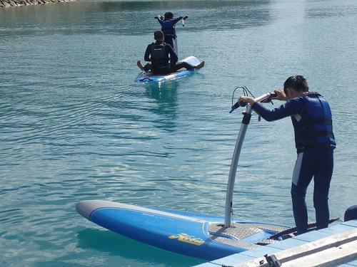 沖縄海開き、シーパーク北谷は年中開催