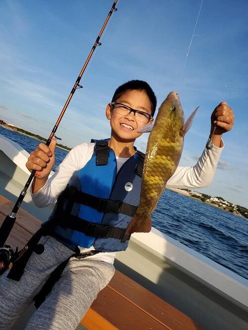 沖縄 釣り体験 北谷