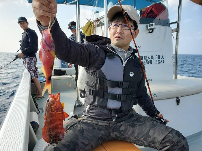 沖縄釣りツアー体験