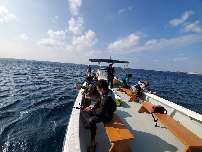 沖縄釣り体験ツアー 子供と