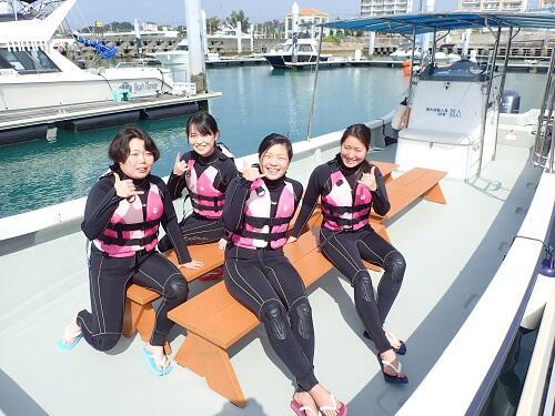 当日参加可能!沖縄のその日の天気を見てからマリンスポーツに参加できます♪