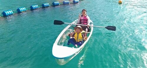 マリンスポーツは何歳からできるの?沖縄シーパーク北谷