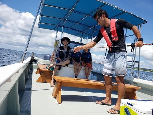 ボートフィッシング