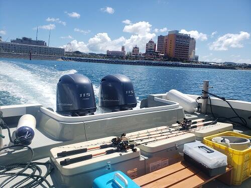 沖縄本島格安で『釣り体験』をご案内!@沖縄シーパーク北谷