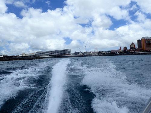 北谷海上散歩ボートちょい乗り遊覧
