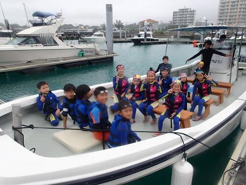 マリンスポーツは何歳からできる?沖縄シーパーク北谷