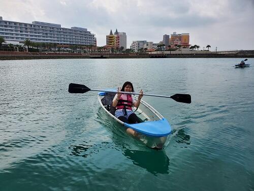 1人から沖縄マリンスポーツを楽しめる!旅行、休日の息抜きに海で遊びましょう!