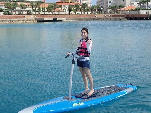 マリンアクテビティ『サップ・SUP』を沖縄で体験!子供からおじいちゃんおばあちゃんも泳げに方も楽しめる!