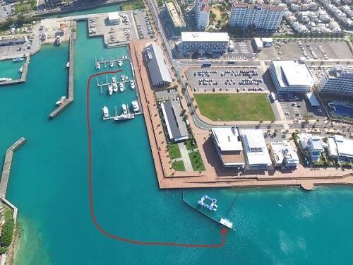 沖縄北谷町内のホテルから歩いて海の遊びに行ける『シーパーク北谷』!宿泊施設ご紹介!
