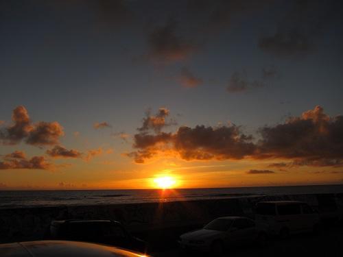 沖縄の夕日.JPG