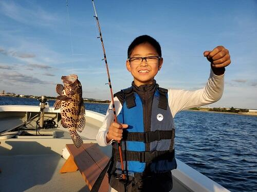 沖縄で釣り体験!家族、友達とボートフィッシング『シーパーク北谷』