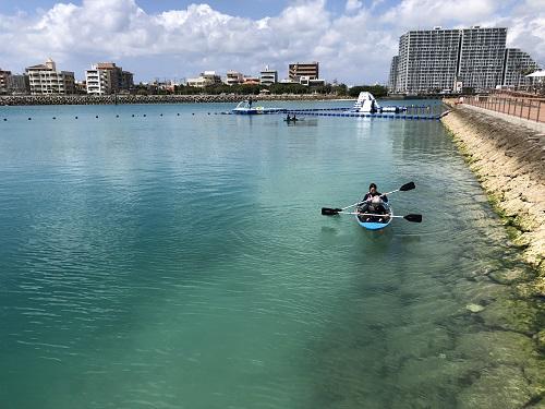 夏の沖縄!シーパーク北谷で海あそび