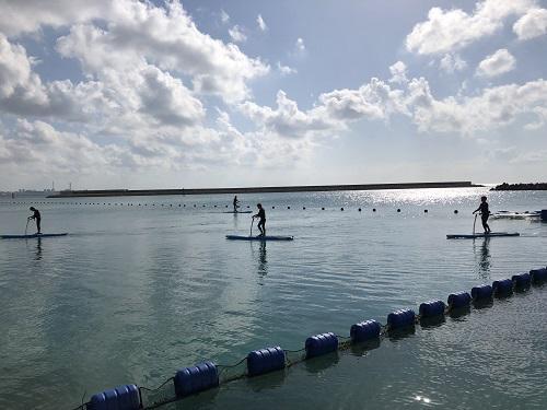 沖縄は夏!海遊び