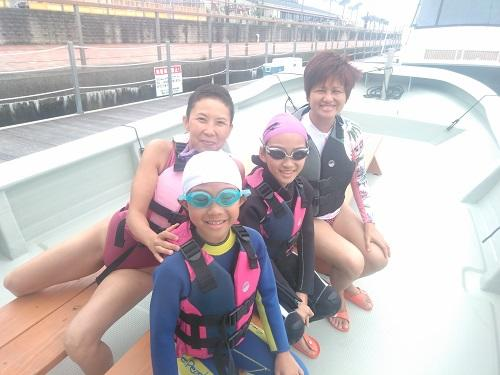 沖縄 夏休み マリンスポーツ