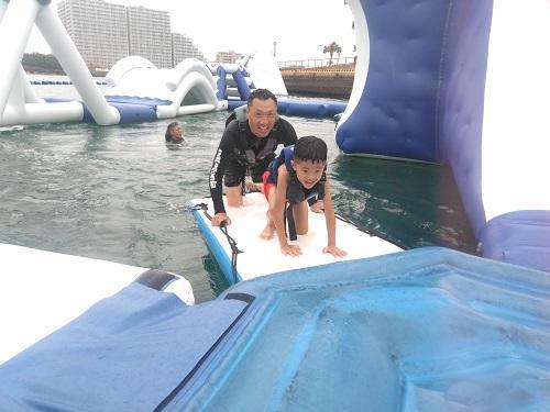 沖縄 夏休み 海遊び