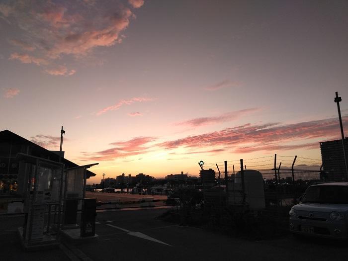 沖縄 夕日 サンセット 北谷
