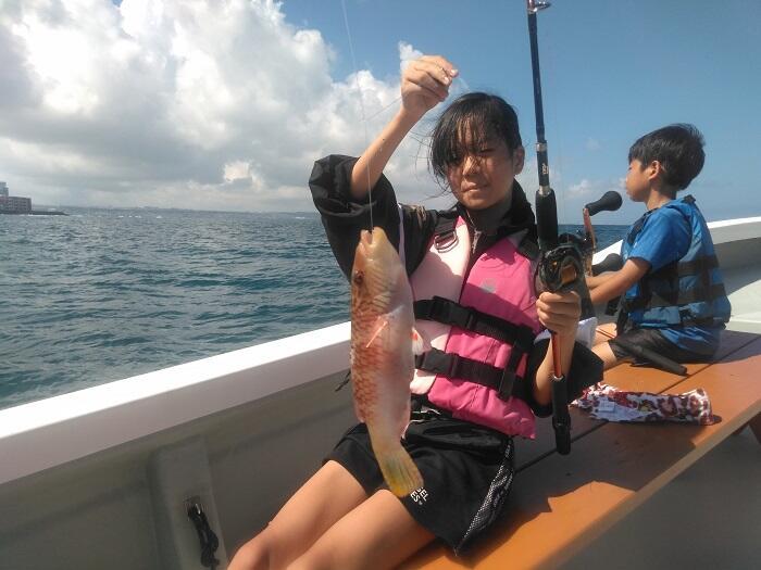 沖縄 子供 釣り