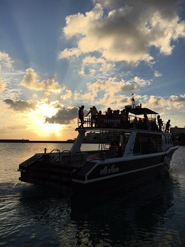 北谷町漁業協同組合 総合案内所 サンセットクルーズ 沖縄