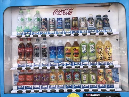 沖縄の自動販売機事情