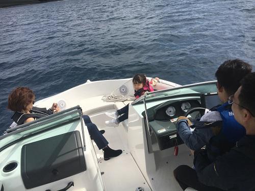 チャーターボート、船貸切