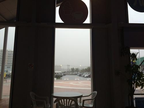 週末は雨のち晴れ!明日は夏日の沖縄