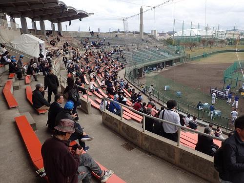 沖縄北谷プロ野球キャンプ中日