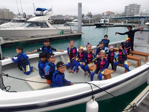 沖縄シーパーク北谷は、船で行く海の公園