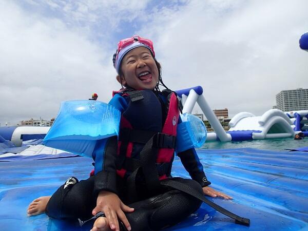 0歳の子供から参加できる!沖縄マリンスポーツ@シーパーク北谷
