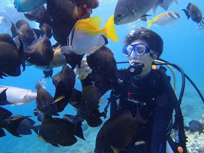 沖縄 体験ダイビング 北谷