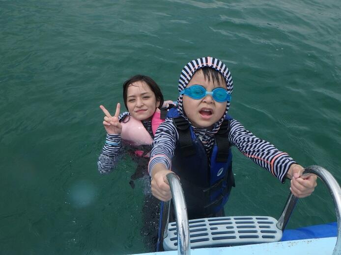 沖縄 子供 マリンスポーツ 6歳