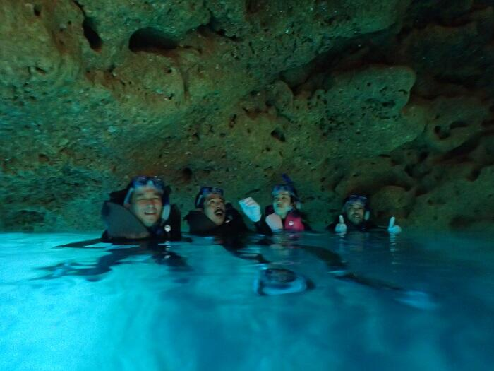 沖縄 青の洞窟 シュノーケル