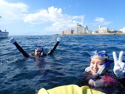 カップルにもおすすめの沖縄『シュノーケル』!初めてでも安心の貸切りでご案内!
