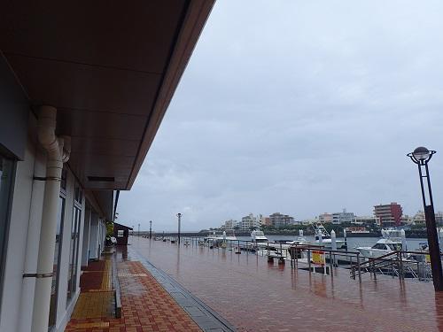 続々と台風発生中!北谷町も雨模様.JPG