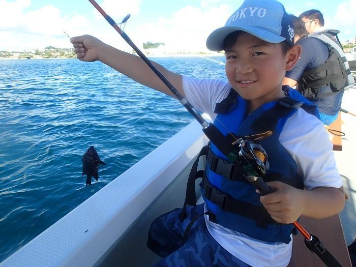 沖縄ボートフィッシング 北谷発