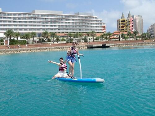 お盆休みは沖縄の海で家族、友達と元気に遊ぼう!@沖縄マリンスポーツ『シーパーク北谷』