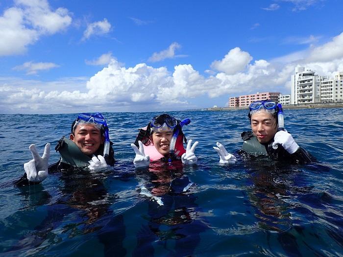 沖縄 シュノーケル スノーケル 北谷