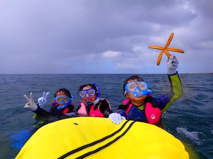 沖縄 シュノーケル スノーケル 5歳 ファミリー 家族
