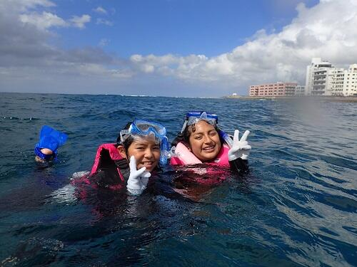 沖縄 貸切 ボートシュノーケリング