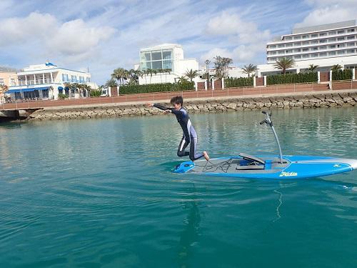 沖縄 マリンスポーツ 海遊び 子供