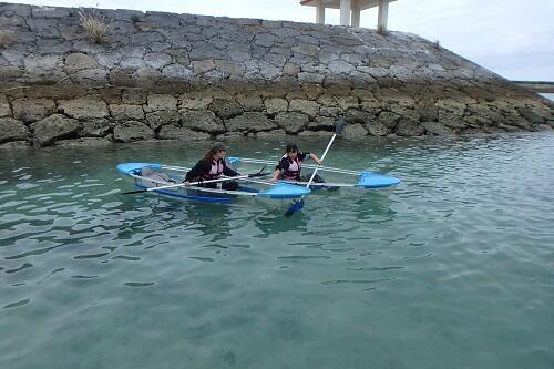 沖縄で子どもと一緒に楽しめるマリンスポーツ&海遊び!『カヤック』を親子で体験してみませんか?
