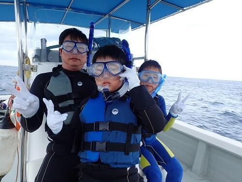 沖縄ボートシュノーケル