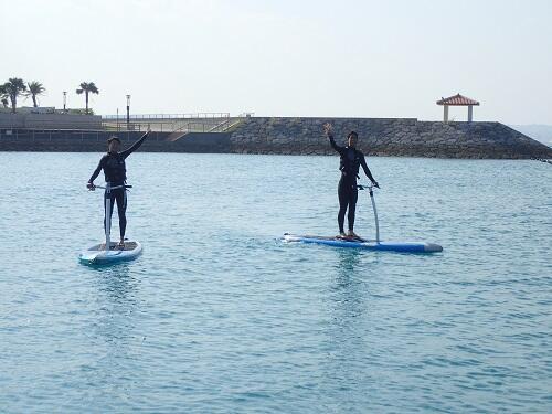 夏の連休は沖縄で海遊び&マリンスポーツを@シーパーク北谷